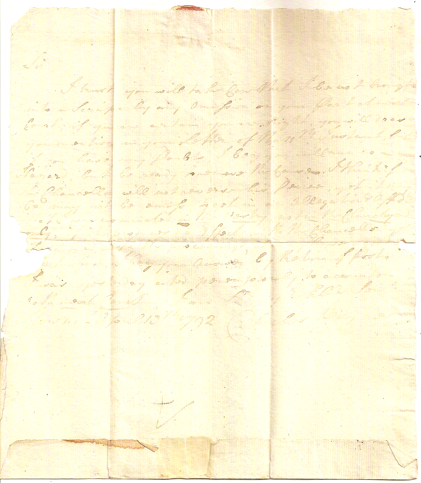 suffolk, pre-stamp, legal, letter