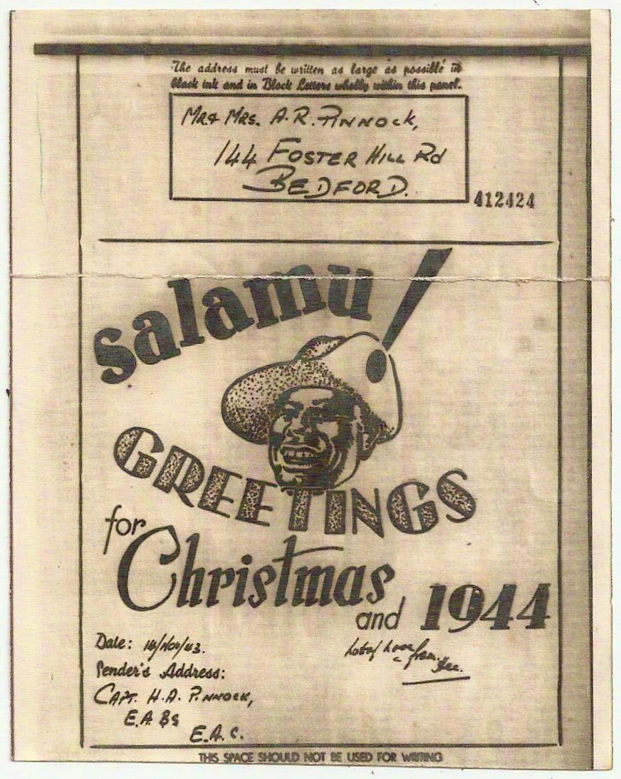 1943 east africa command xmas pictorial airgraph wswahili greeting 1943 east africa command xmas pictorial airgraph wswahili greeting m4hsunfo Choice Image